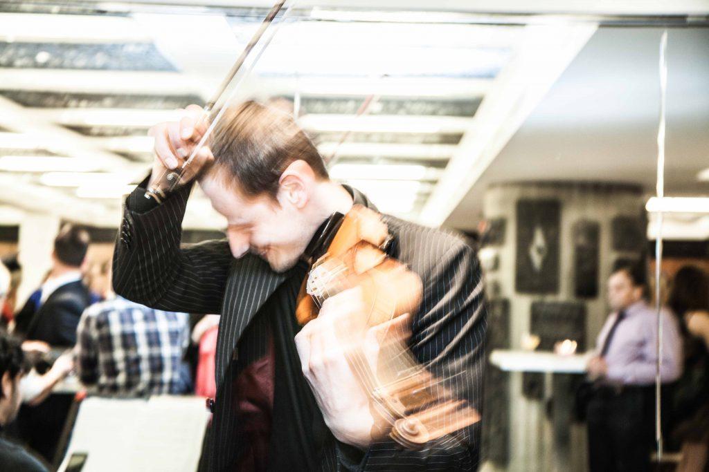 Event, hintergrundmusik, sektempfang, feier, violine