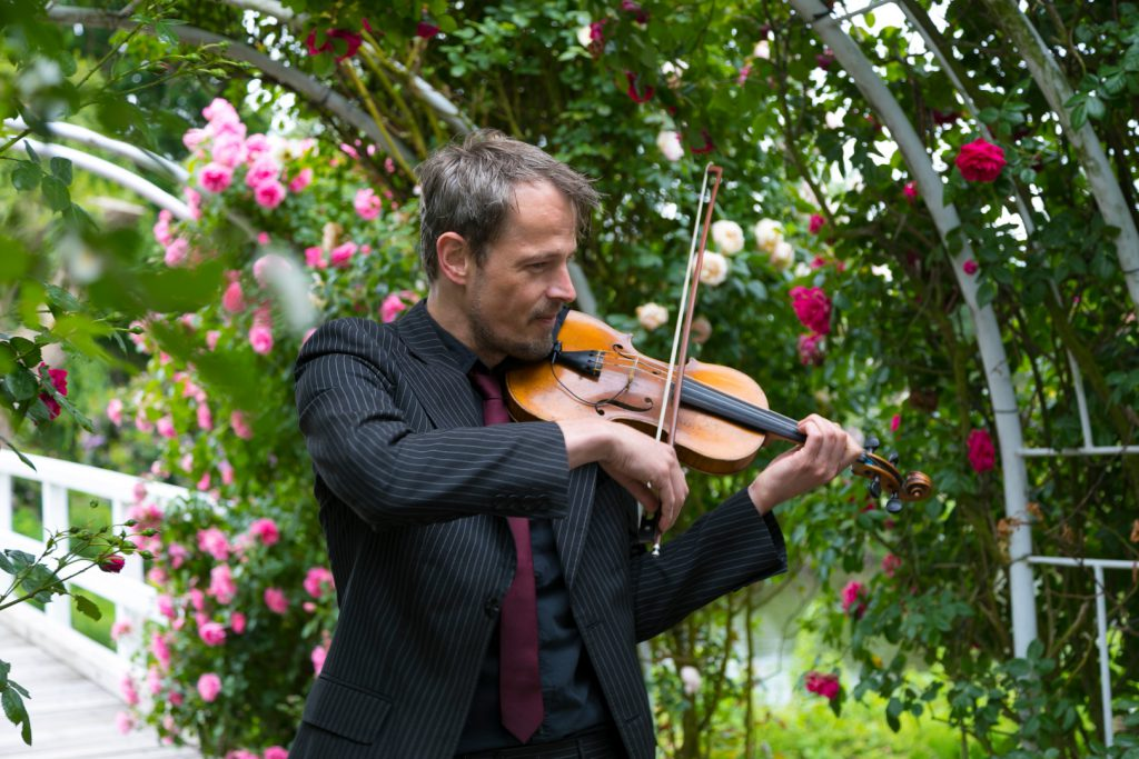 Violine, Hochzeit, Violinist, romantisch, Geiger